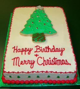 Christmas-Birthday-Cake
